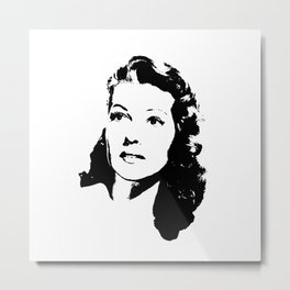 Rita Hayworth Is Class Metal Print