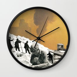 An Industrial Vice Wall Clock