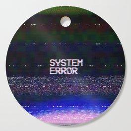 System Error Cutting Board