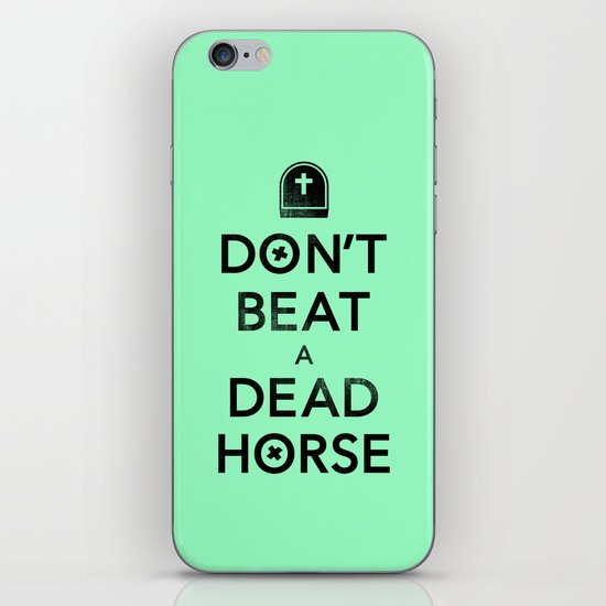 Seriously... iPhone & iPod Skin
