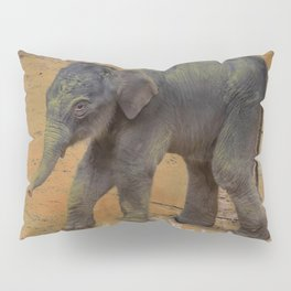Cute Baby Elephant Pillow Sham