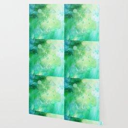 The Green Galaxy Wallpaper