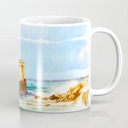 shipwreck aqrestd Coffee Mug