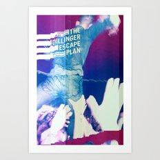 Glitching The Dillinger Escape Plan  Art Print