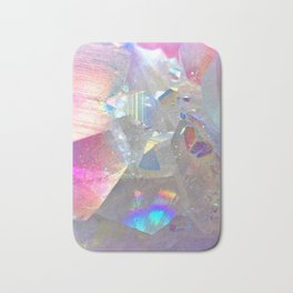 Rainbow Angel Aura Crystal Bath Mat