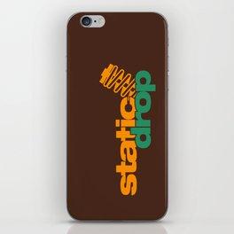 Static drop v6 HQvector iPhone Skin
