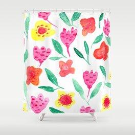 Summer blossoms Shower Curtain