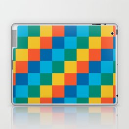 Color me happy - Pixelated Pattern in bright colors Laptop & iPad Skin