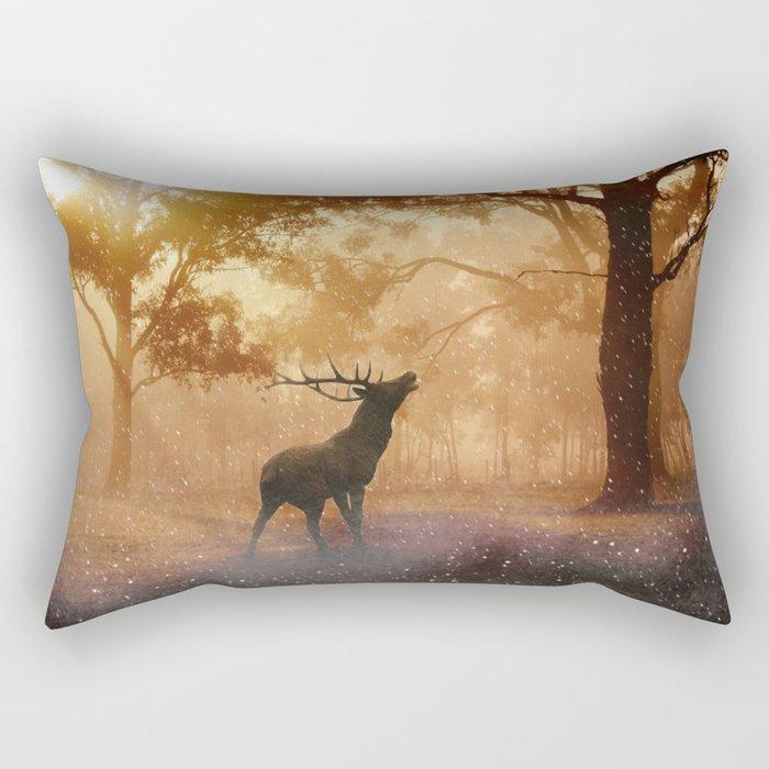 Dear my golden velvet  Rectangular Pillow