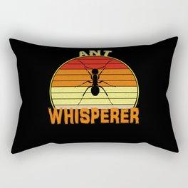 Ant Whisperer Rectangular Pillow
