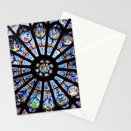 Cathedral Stained Glass Stationery Cards