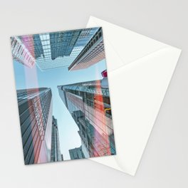 Hongkong skyscraper 3 Stationery Cards