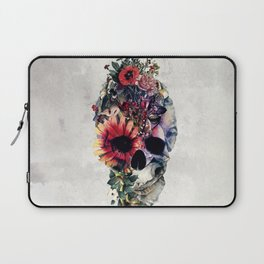 Two Face Skull Laptop Sleeve