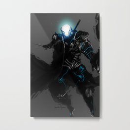 Project Polarity Speedpaint Metal Print