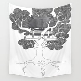 Tree of Life: Circle of Willis Manifest Wall Tapestry