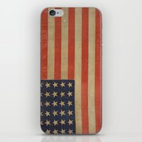 flag iPhone & iPod Skins featuring Flag by ART SHOP