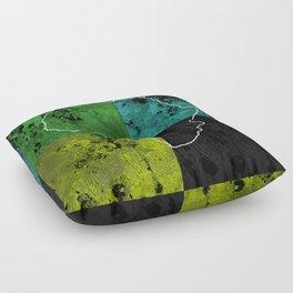 Tanzania III - Art In Support Of Kids 4 School Floor Pillow
