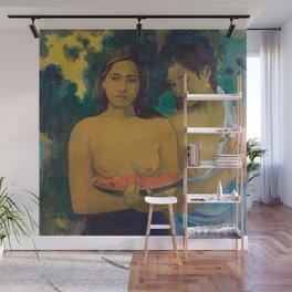 Paul Gauguin - Two Tahitian Women Wall Mural