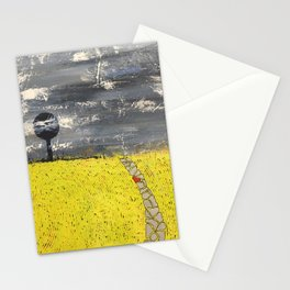 Une seule pierre. only one stone. Stationery Cards