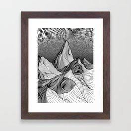 Risen Framed Art Print