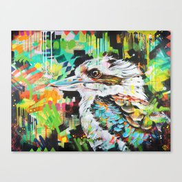 Serious Business [Kookaburra] Canvas Print