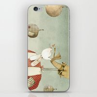 balloon iPhone & iPod Skins featuring Balloon by Judith Loske