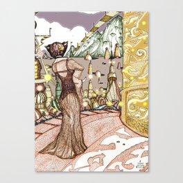 Planet XYZ : Colour version Canvas Print