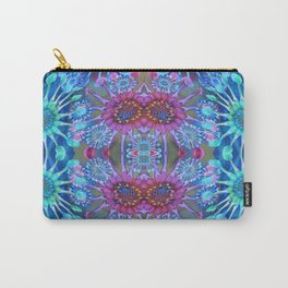 Passionflower Fractal Floral Carry-All Pouch
