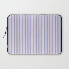 Geometrical lilac pink modern stripes pattern Laptop Sleeve