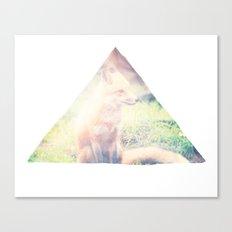 Sunny Fox Canvas Print