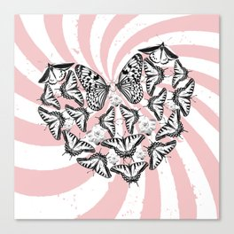 Love Conquers Hate Canvas Print