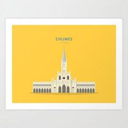 CHIJMES, Singapore [Building Singapore] Art Print