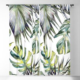 TROPICAL GARDEN 2 Blackout Curtain