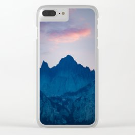 Mt. Whitney Clear iPhone Case