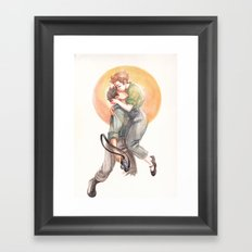 Taro Framed Art Print