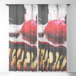 Clown 1 Sheer Curtain