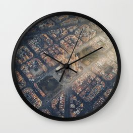 Let there be light! Wall Clock