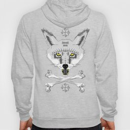 Silver Fox Geometric Hoody