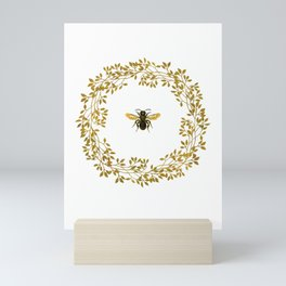 The Bee Mini Art Print