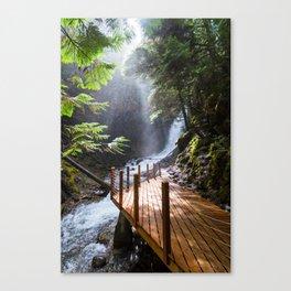 Fletcher Falls Two Canvas Print