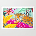 Vibrant Jungle by sunlee_art