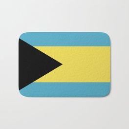 Bahamas flag emblem Bath Mat