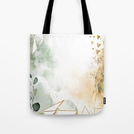 Mystic golden botanics Tote Bag