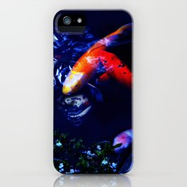 Koi Fish play coy iPhone Case