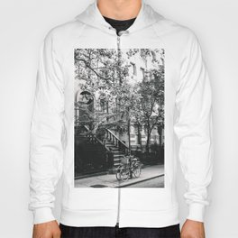 New York City - West Village Street and Bicycles Hoody