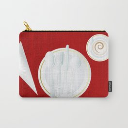 Table setting for one Carry-All Pouch