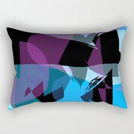 Transparent cool colors Rectangular Pillow