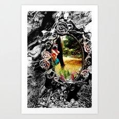 Through The Looking Glass Art Print