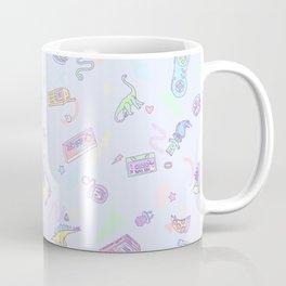 Retro Girl (Blue) Coffee Mug