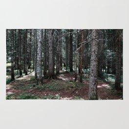 wild forest Rug